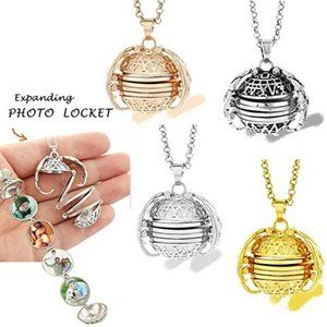 Jewelry - Expanding Magic 4 Photo Pendant